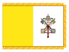 Papal Indoor Flags