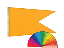 Nylon Solid Color SWALLOWTAIL FLAGS