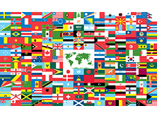 World Flags - A thru E