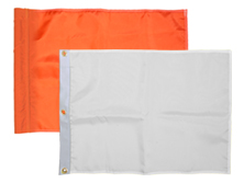 Solid Color Golf Flags
