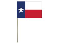 Texas Stick Flag