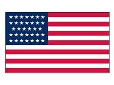 U.S. Civil War 34 Star